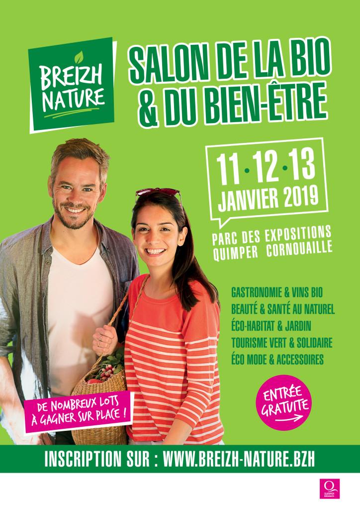 Breizh nature salon de la bio et du bien tre 11 12 13 - Salon bio et bien etre ...